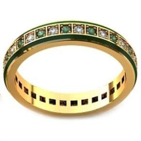 Обручальное кольцо 001