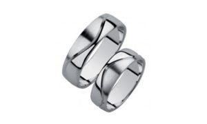 обручальные кольца парные 005